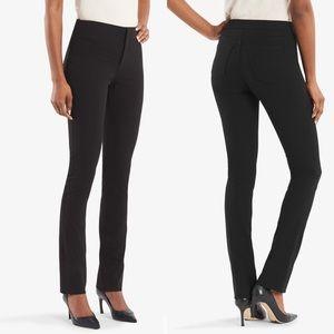MM Lafleur•Black Hockley straight leg pants
